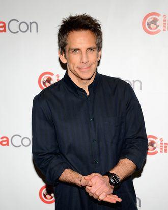 LAS VEGAS, NV - APRIL 18: Actor Ben Stiller arrives at a Twentieth Century Fox presentation to promote the upcoming film