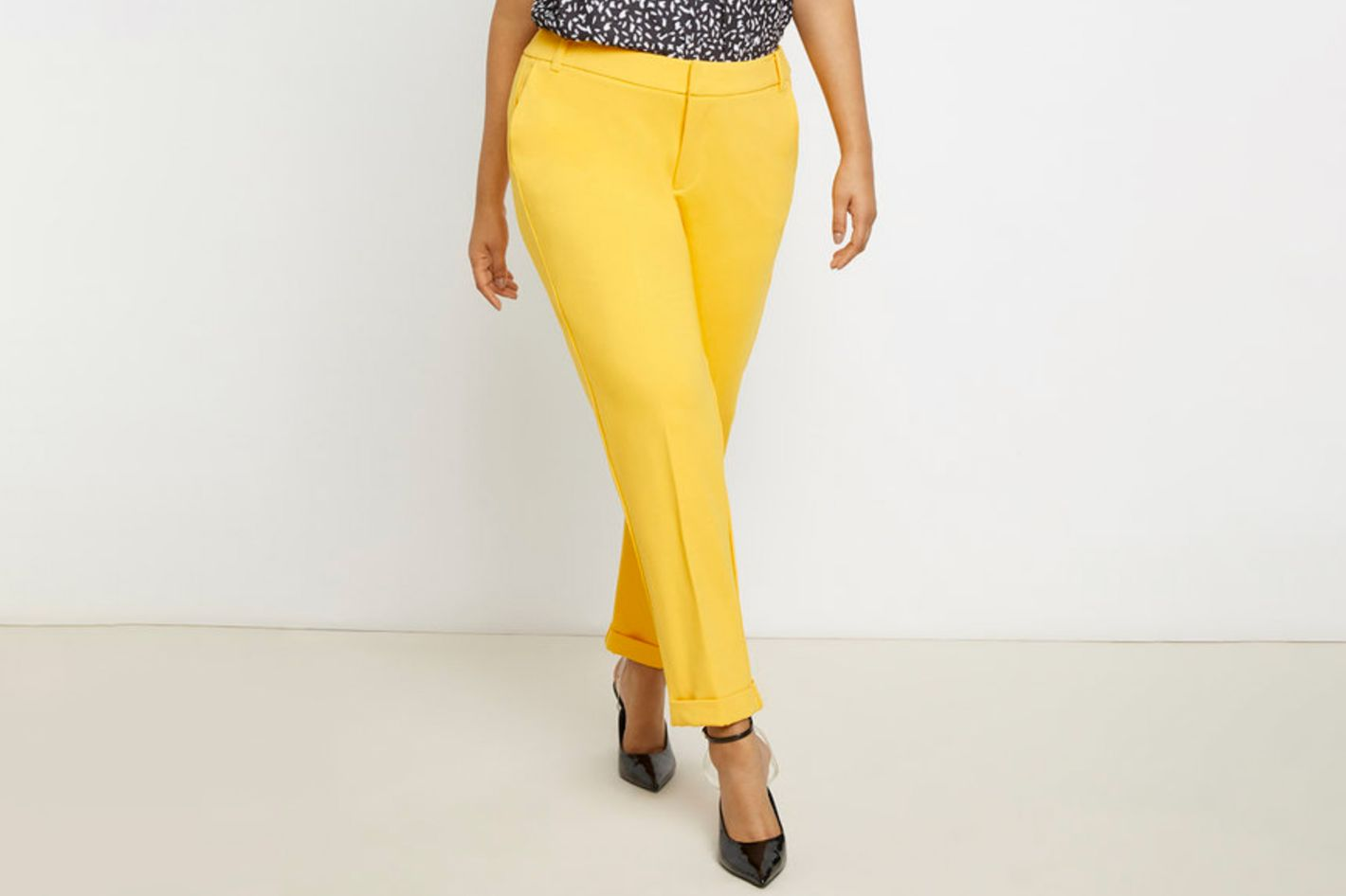 Eloquii 9-to-5 Ankle Cuff Work Pant