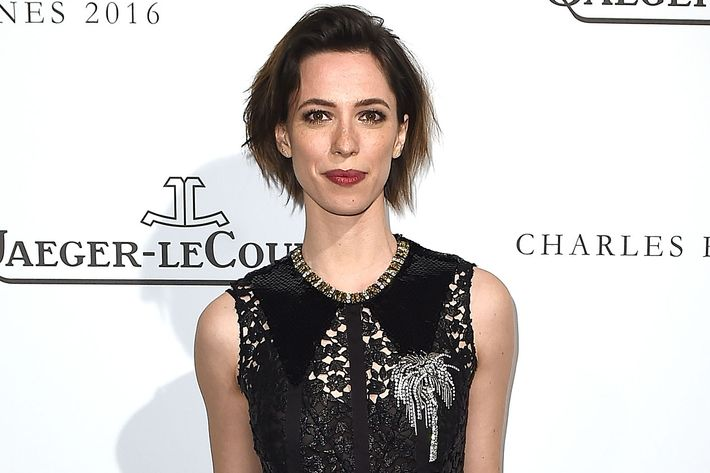 Rebecca Hall on the red carpet