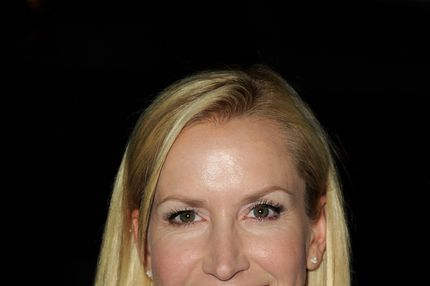 "Actress Angela Kinsey arrives at The Hollywood Reporter's celebration of ""The Mindy Project"" starring Mindy Kaling at Skybar on August 25, 2012 in West Hollywood, California."