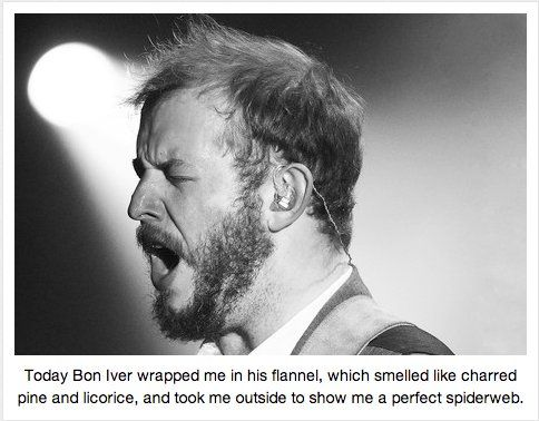 Read Bon Iver Erotica. Ironic or not, we're just happy it exists.