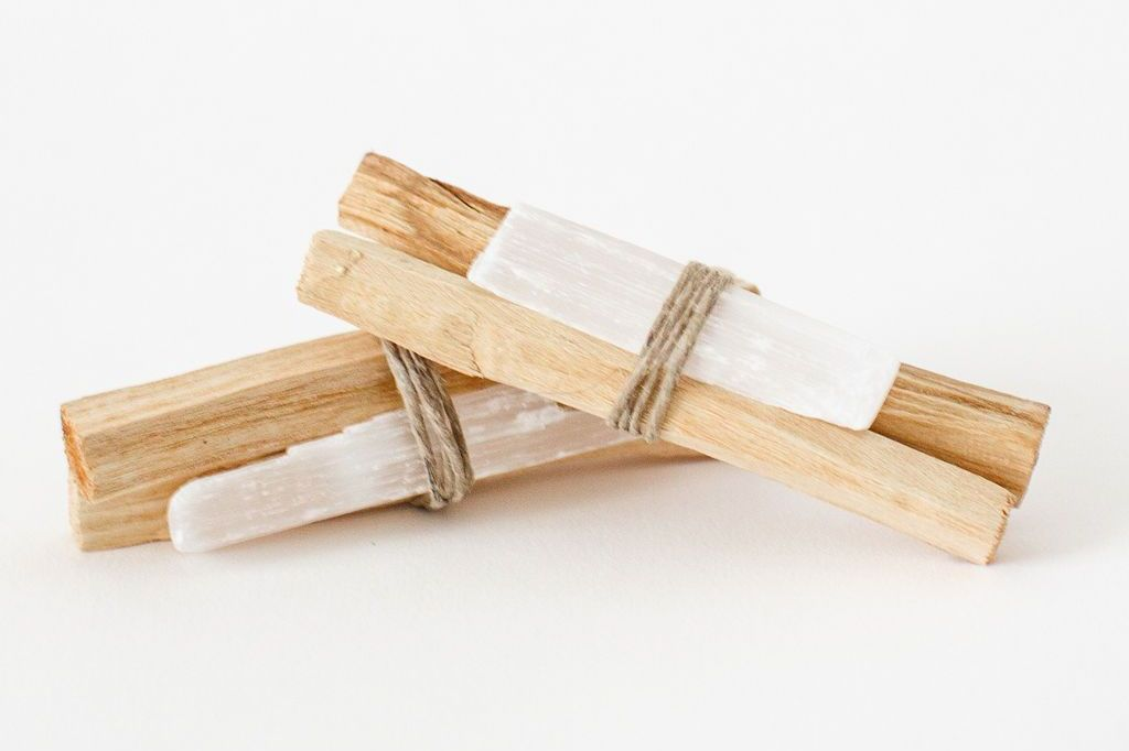 Apothecary Company Palo Santo and Selenite Bundle
