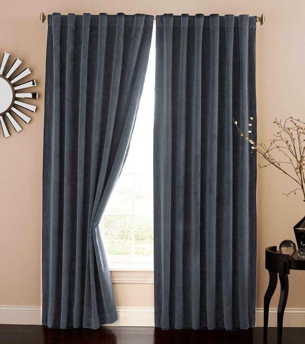 Absolute Zero Velvet Blackout Curtains