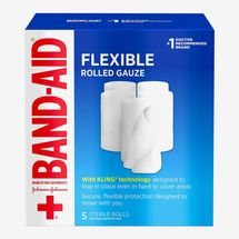 Band-Aid Flexible Rolled Gauze Dressing