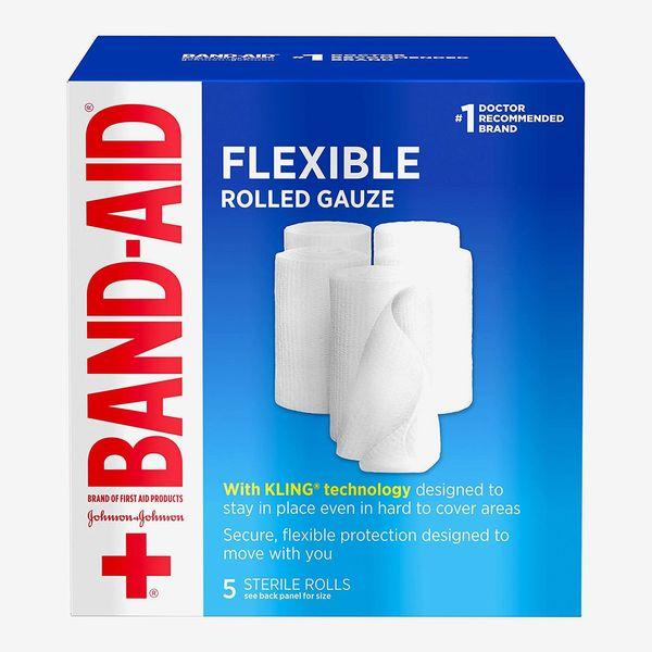 Band-Aid Flexible Rolled Gauze Dressing