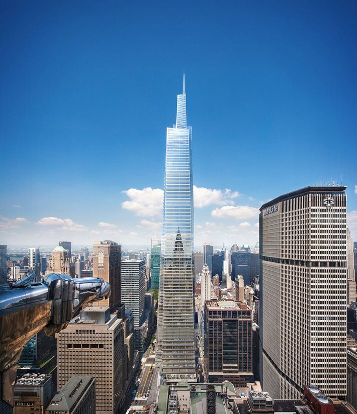 Nyc New York: NYC Will Get That 1,400-Foot Skyscraper Near Grand Central