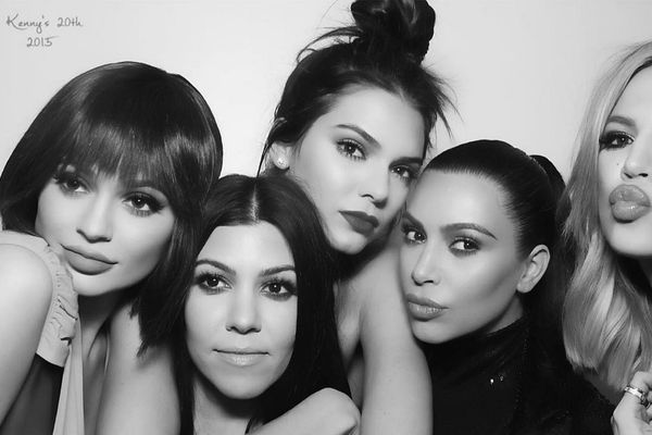 The Joy and Terror of the Kardashian Photo Booth