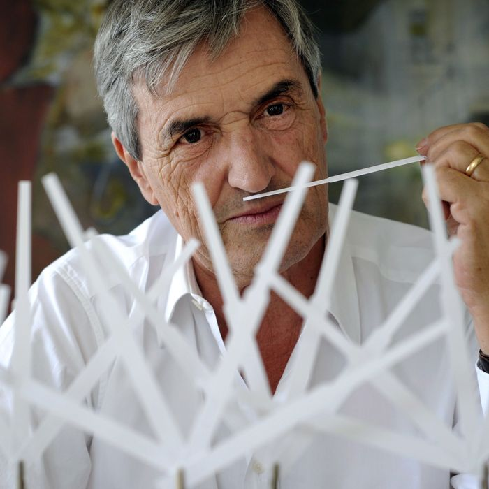 Perfumer Jean-Claude Ellena of Hermès.