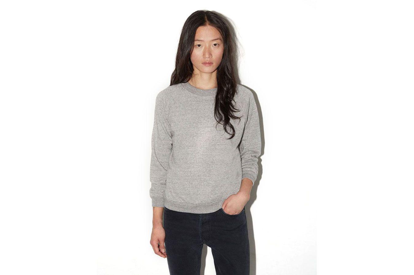 La Garçonne Moderne Raglan Sweatshirt