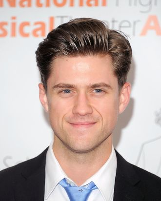 Actor Aaron Tveit attends the 2011 National High School Musical Theater Awards at The Minksoff Theatre on June 27, 2011 in New York City.