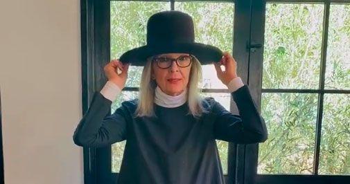 Diane Keaton Takes You Inside Her Own Personal Haberdashery