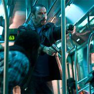 "John Travolta in Columbia Pictures' ""Taking of the Pelham 1-2-3,"" also starring Denzel Washington."