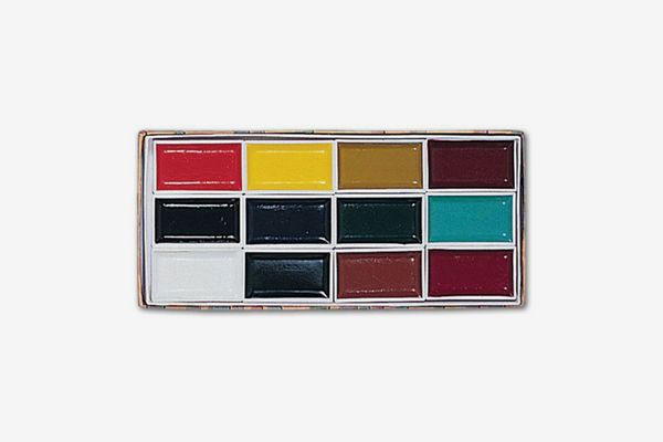 Yasutomo Sumi Water Soluble Colorfast Color Set, 12 Assorted Colors