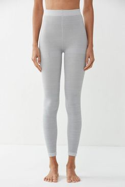 Out From Under Fleece-Lined Grey Footless Tight