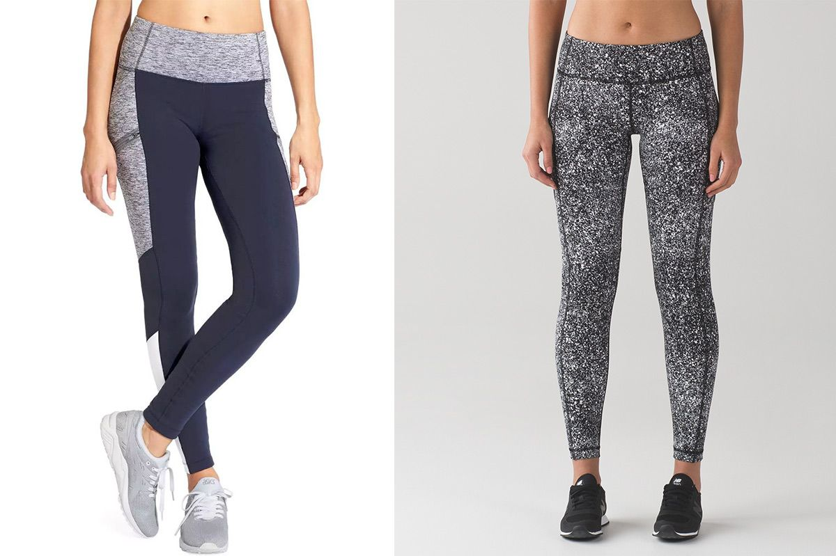 Athleta Colorblock Powerlift tights