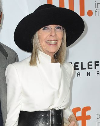 TORONTO, ON - SEPTEMBER 05: Actress Diane Keaton attends the 'Ruth & Alex' premiere during the 2014 Toronto International Film Festival at Ryerson Theatre on September 5, 2014 in Toronto, Canada. (Photo by Angela Weiss/WireImage)