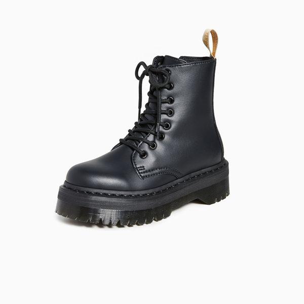 Dr. Martens Vegan Jadon II Mono 8-Eye Boots