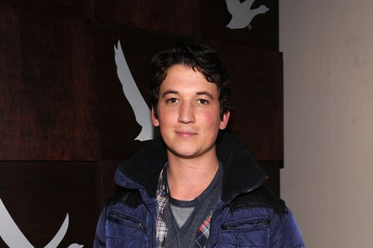 "Actor Miles Teller attends Grey Goose Blue Door ""The Spectacular Now"" Party on January 18, 2013 in Park City, Utah."