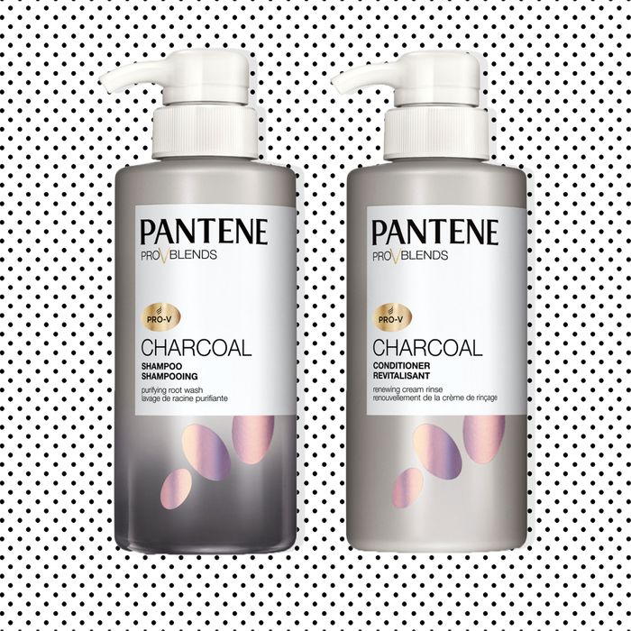pantene is making activated charcoal shampoo and conditioner