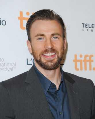 TORONTO, ON - SEPTEMBER 12: Actor/director Chris Evans attends the