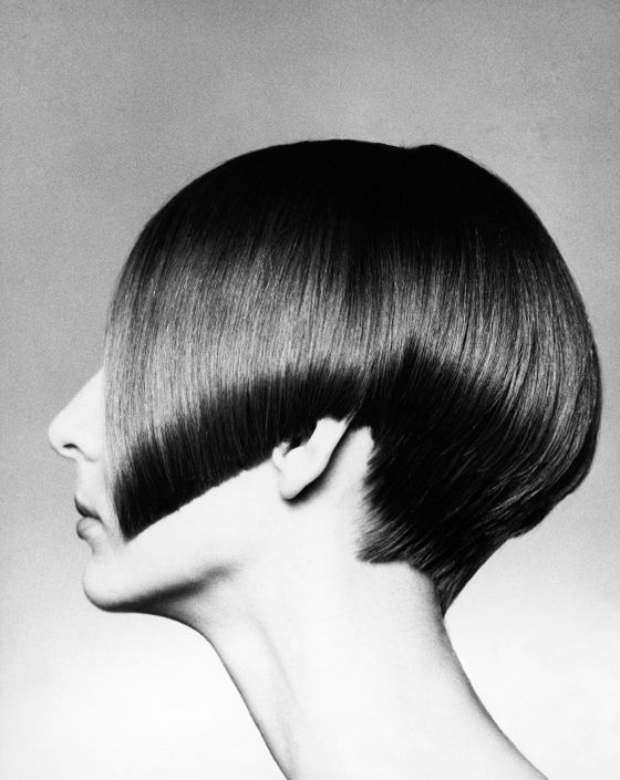 "Vidal Sassoon revitalized the bob in 1963, liberating women from salon set styles. In 1965, he created his famous five-point cut — a close crop with a notch at each ear and a <i>W</i> at the nape of the neck — on Grace Coddington. The <i>Vogue </i>creative director remembers modeling for Vidal at hair shows; ""shak[ing] our heads like little wet puppies"" to show how his revolutionary shapes snapped back into place."