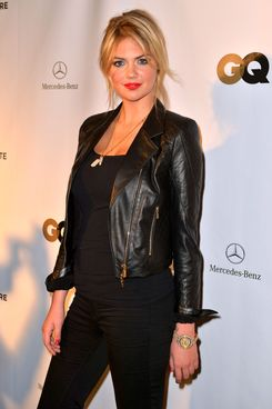 Kate Upton attends the GQ Super Bowl party sponsored by Lacoste and Mercedes-Benzat The Elms Mansion on February 2, 2013 in New Orleans, Louisiana.