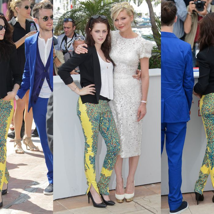 Kristen Stewart and the pants.