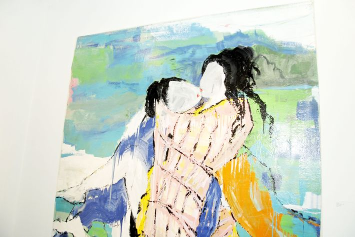 Did You Know Lucy Liu Creates Beautiful Erotic Paintings?