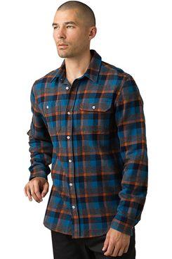 Prana Hatcher Slim Flannel Shirt