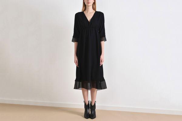 8 3/4 length dress