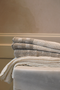 Kimisoo Authentic Linen Washed Towels