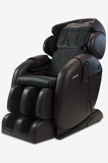 Kahuna LM6800S Dark Brown Space-Saving Zero Gravity Full-Body Reclining Massage Chair with Bluetooth Speakers