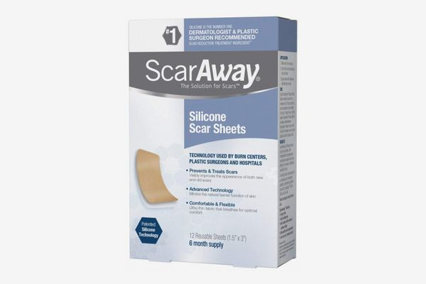 ScarAway Silicone Scar Sheets - 8 Count
