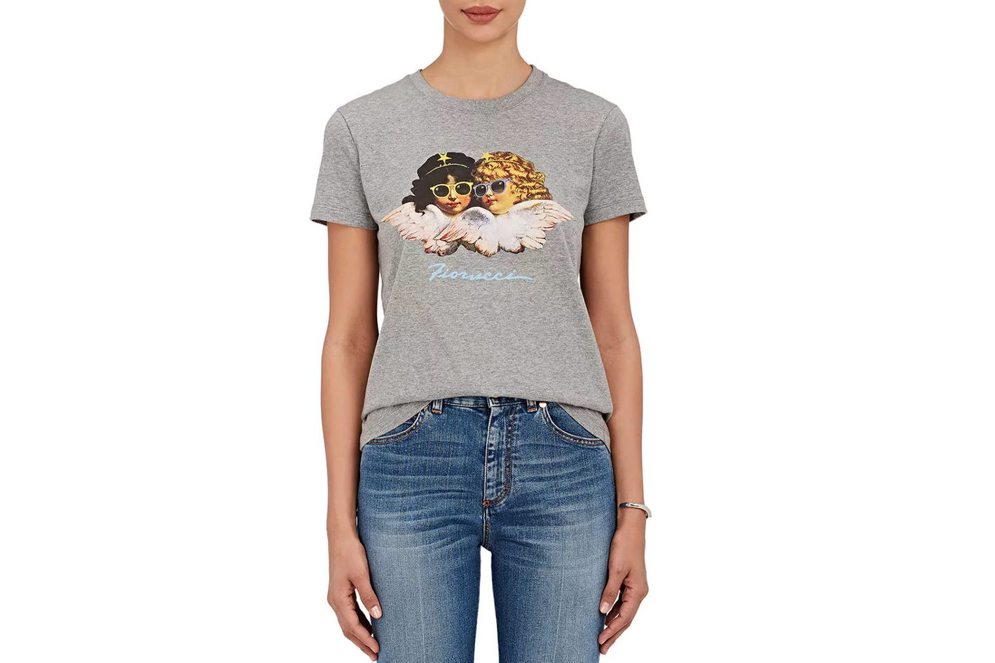 Fiorucci Angel-Graphic Cotton T-Shirt