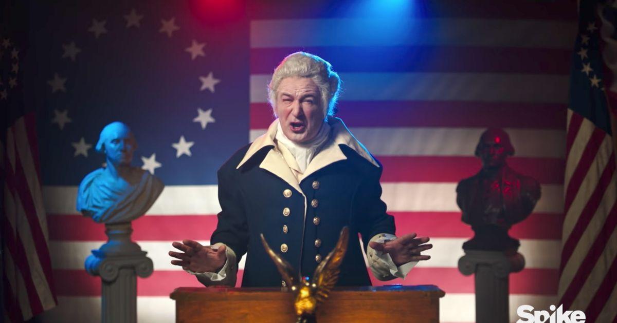 ... George Washington Impression Wouldn't Involve Donald Trump