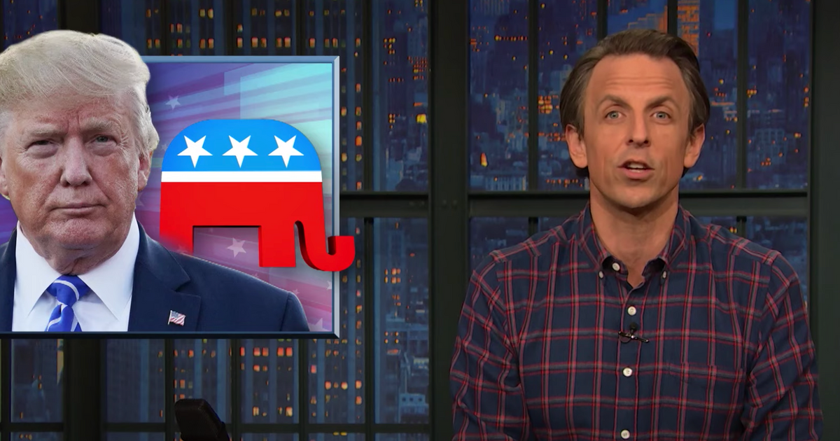 Seth Meyers Takes One Last Closer Look at the Trump Presidency