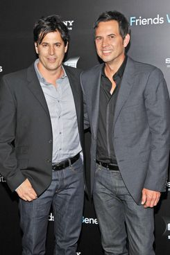 "NEW YORK, NY - JULY 18: Writers David A. Newman  and Keith Merryman attend the ""Friends with Benefits"" premiere at Ziegfeld Theater on July 18, 2011 in New York City.  (Photo by Stephen Lovekin/Getty Images)"