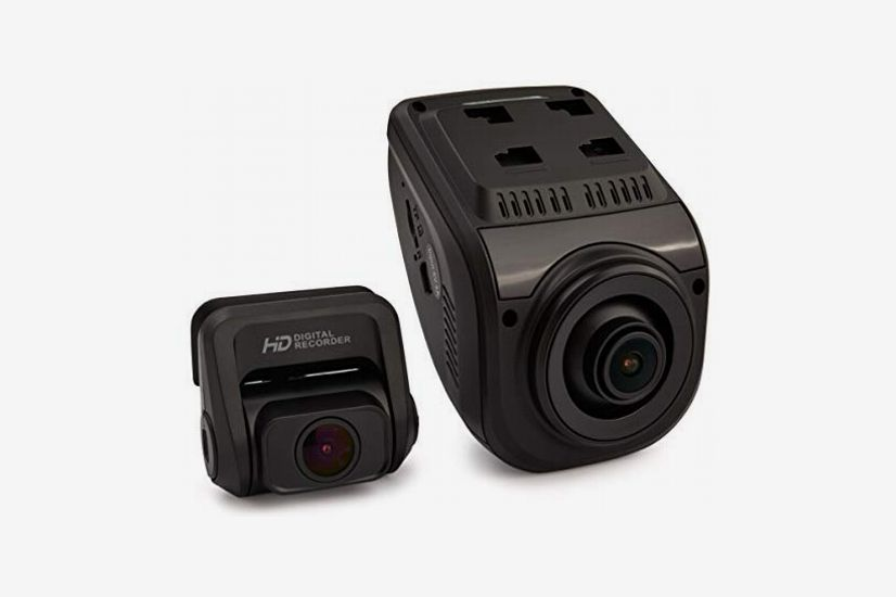 "Rexing V1P 3rd Generation Dual 1080p Full HD Front and Rear 170 Degree Wide Angle with Wi-Fi, 2.4"" Screen"