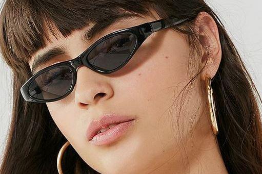 Vintage Virginia Slim Cat-Eye Sunglasses