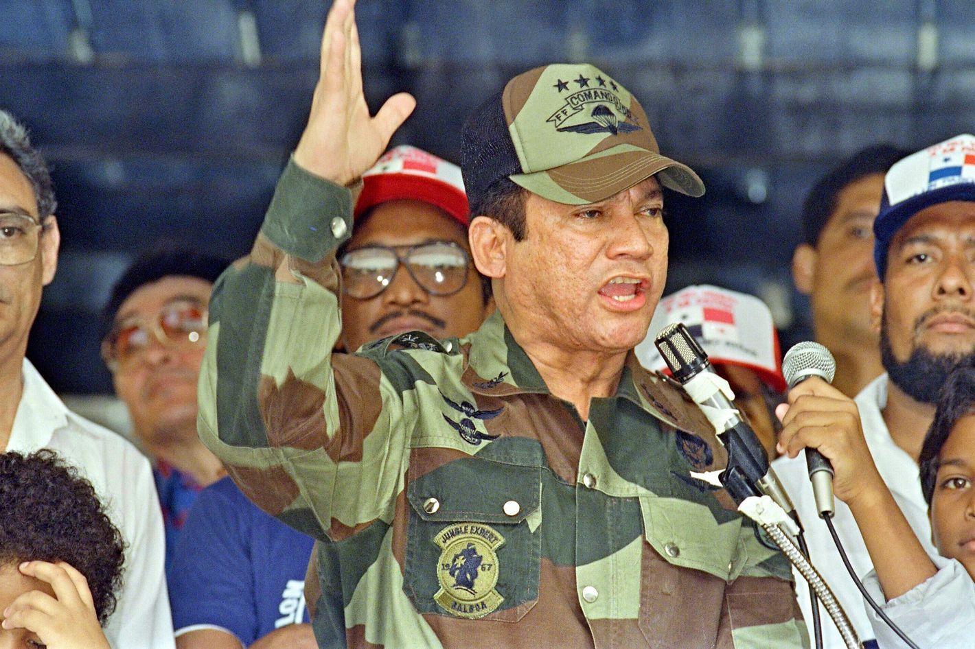 a biography of manuel noriega the dictator of panama Manuel noriega, the former panamanian dictator and convicted drug trafficker who was once one of central america's most notorious military strongmen, has died, according to a tweet by panama's president juan.