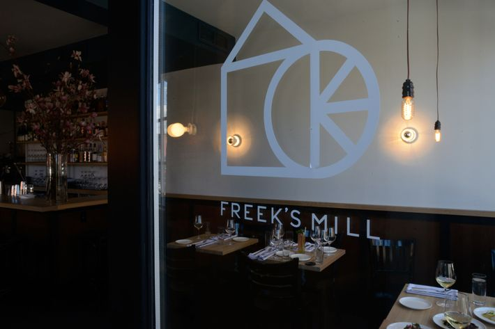 Like nearby Runner & Stone, Freek's Mill takes inspiration from the area's historic grist mills.