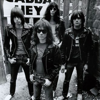 Photo of Dee Dee RAMONE and Johnny RAMONE and Joey RAMONE and RAMONES
