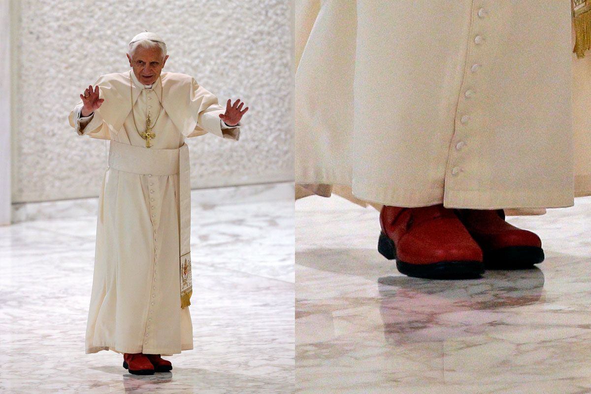 What Kind Of Shoes Does The Pope Wear