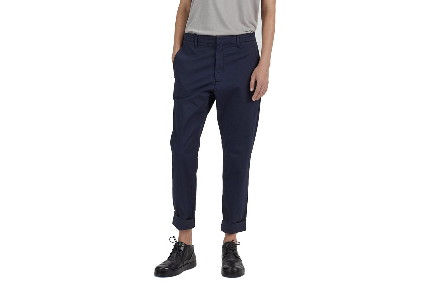 Hope News Trouser in Navy