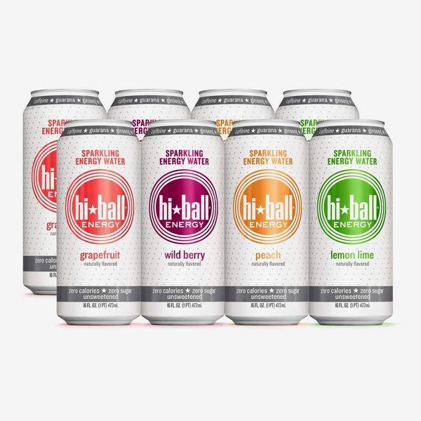 Hiball Energy 4-Flavor Sparkling Energy Water