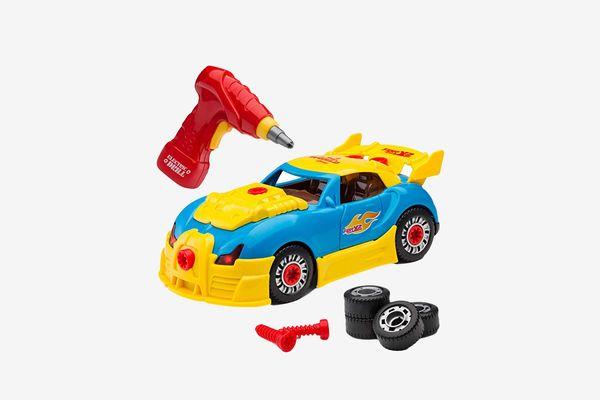 Self-Assemble 30-Piece Racing
