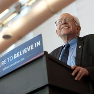 Bernie Sanders Holds Campaign Rally In Pittsburgh