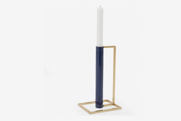 MoDRN Glam Geo Candle Holder