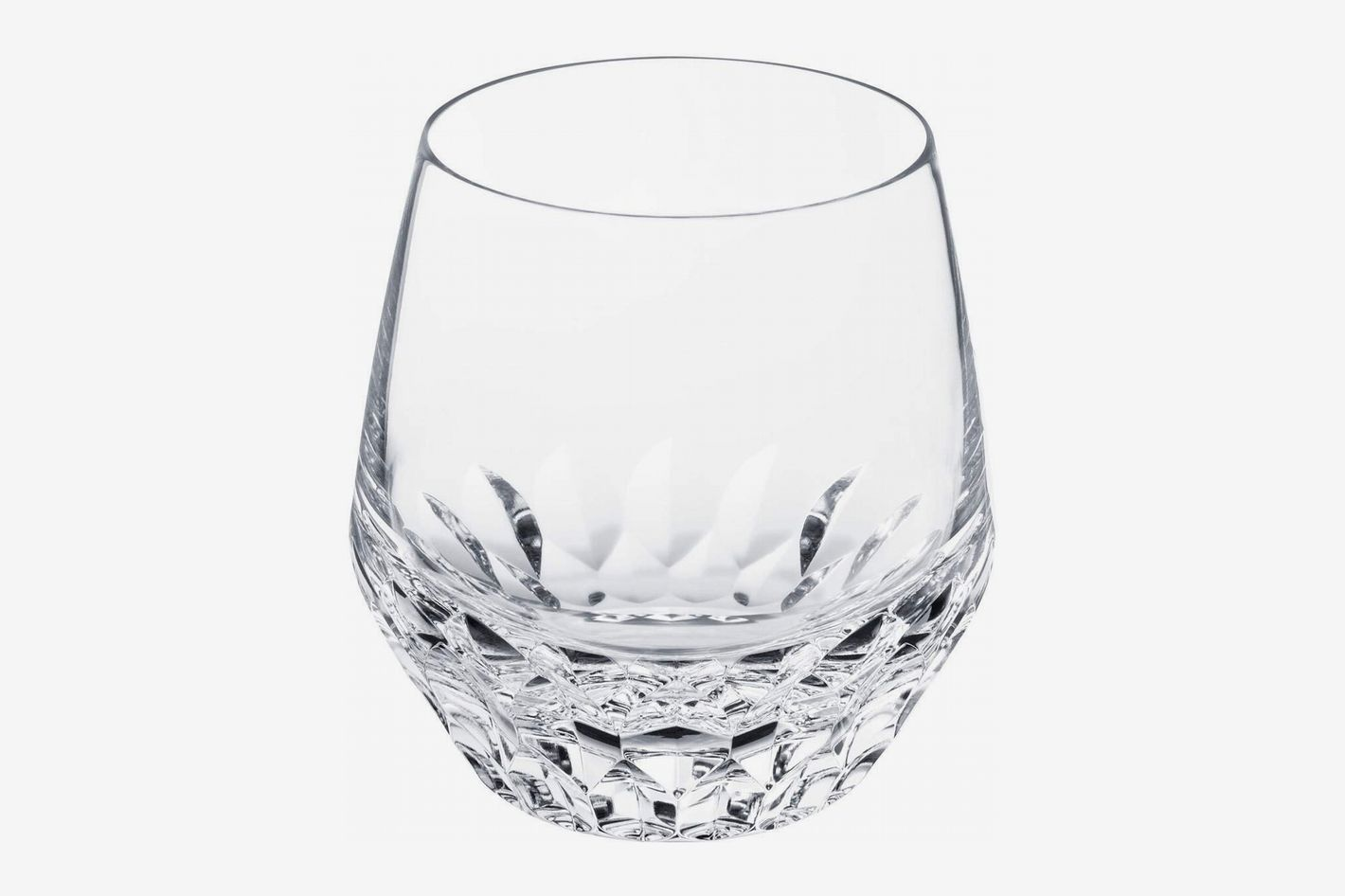 Saint Louis Crystal Folia Medium Tumbler