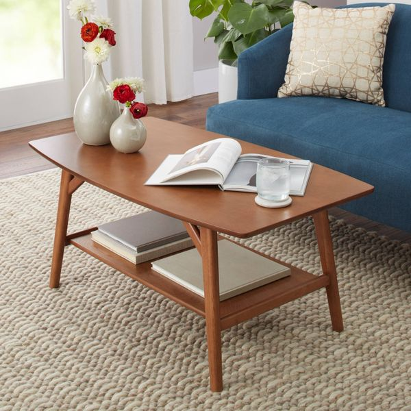 Better Homes & Gardens Reed Mid Century Modern Coffee Table